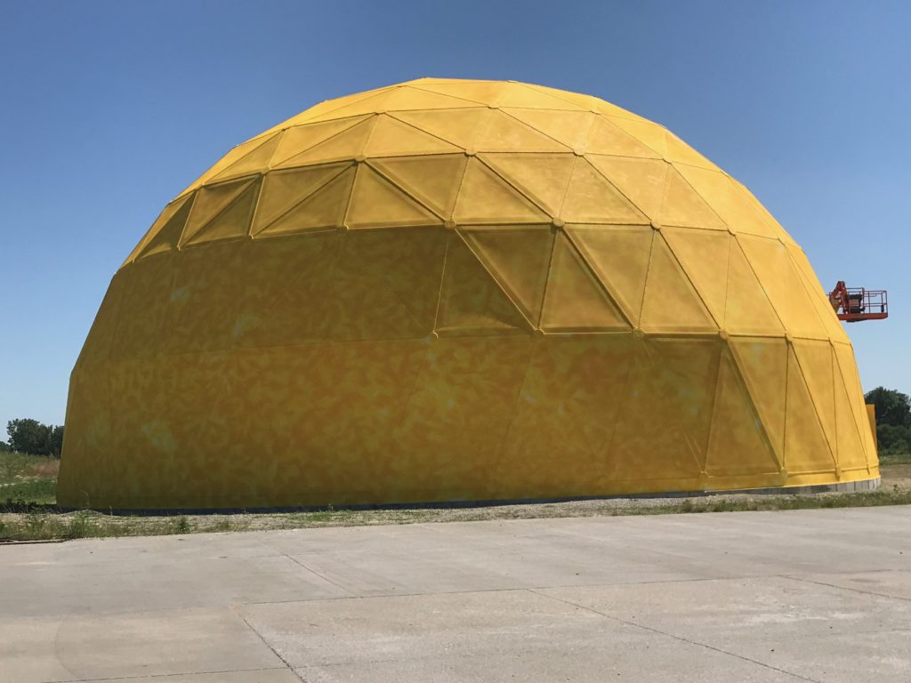 DOME Project - MUSCO Lighting - Iowa Painting Specialists - JC Toland